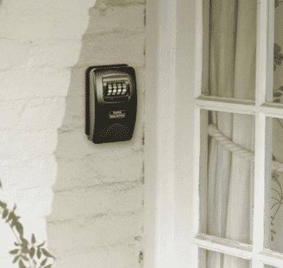 Senior boîte à clefs sécurisée