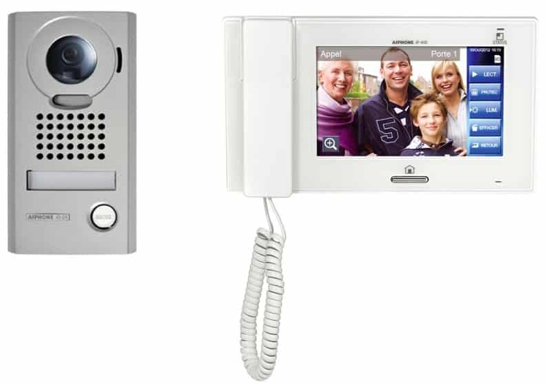 Seniors interphone visiophone
