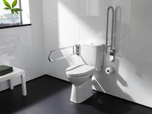 WC personnes âgées cuvette haute