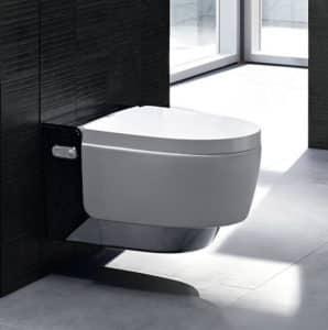 WC japonais lavant