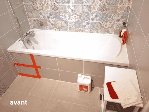 Remplacer baignoire par douche